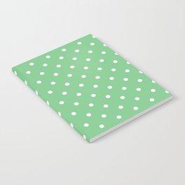 Sage Polka Dots Notebook