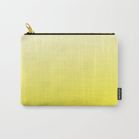 Simply sun yellow color gradient - Mix and Match with Simplicity of Life Carry-All Pouch