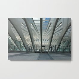 in a glasshouse Metal Print
