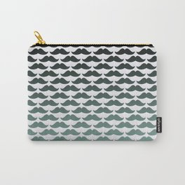 Mint Fade Mustaches Carry-All Pouch