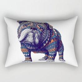 English Bulldog (Color Version) Rectangular Pillow