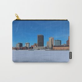 Toledo Skyline in Winter IV Carry-All Pouch