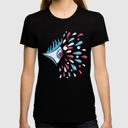 Psychedelic eye T-shirt