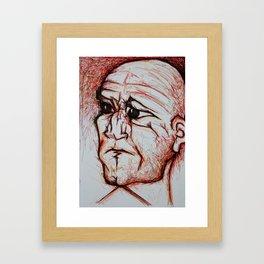 Visage 10 Framed Art Print
