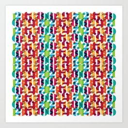 Number Crunching Art Print