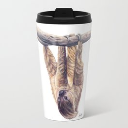 Wookie the Two-Toed Sloth Travel Mug