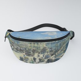 Pont Neuf Paris Painting by Auguste Renoir Fanny Pack