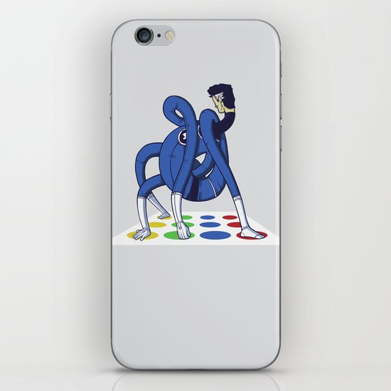 Twister world champion iPhone & iPod Skin