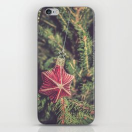 Little Red Star iPhone Skin