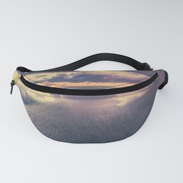 Stormy Beach Sunset Fanny Pack