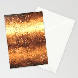 Metal Gold Colors Stationery Cards