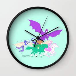 The Big Four Wall Clock