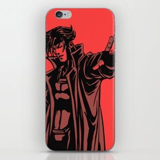 Gambit vector iPhone & iPod Skin