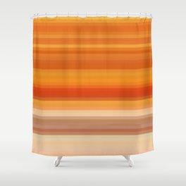 Re-Created Spectrum XXXIII by Robert S. Lee Shower Curtain