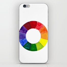 Color Wheel iPhone Skin