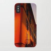 milan iPhone & iPod Cases featuring MILAN SUNSET by arteri