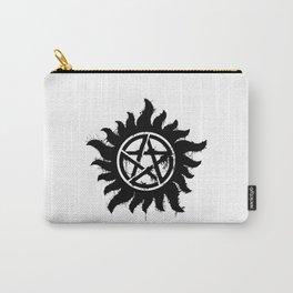 Anti-Possession Symbol Dark (Splatter) Carry-All Pouch