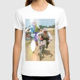 s&m bikes racer T-shirt