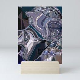 sapphires 2 Mini Art Print