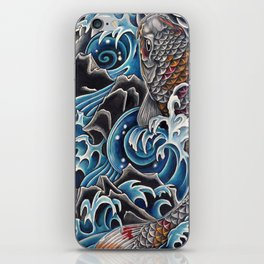 Koi by Sebastian Orth iPhone Skin