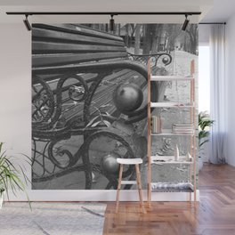 Vibrant city . Art object coupon , interiordecor . antique 7 Wall Mural