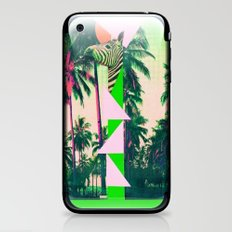 ZEBRA PALM iPhone & iPod Skin