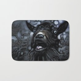 Beholding the Daughters of the Firmament Bath Mat