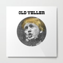 Old Yeller Metal Print