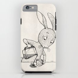 Crooked Coffee iPhone Case