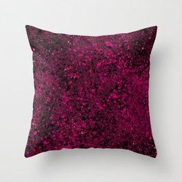 Raspberry Crumble Throw Pillow