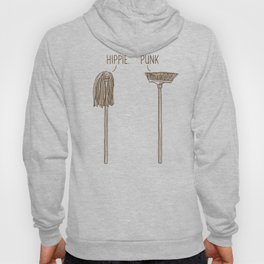 Hippie and Punk Hoody