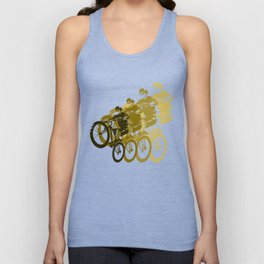 Mountain Bike Unisex Tank Top