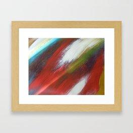 Colorful Past Framed Art Print