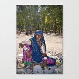 Mir Woman Canvas Print