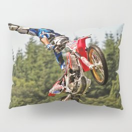 Motocross stuntman Pillow Sham