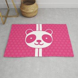 Pink Panda Rug