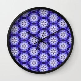 Purple Passion Pattern 4 Wall Clock