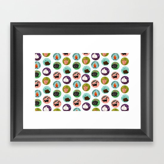 Scratch and Sniff Framed Art Print