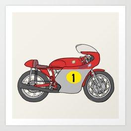 MV Agusta GP 500 Art Print