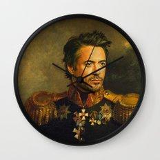 Robert Downey Jr. - replaceface Wall Clock