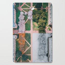UW Cherry Blossoms: 4 Seasons Cutting Board