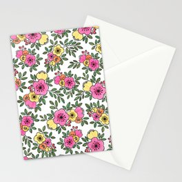 Spring Bunch Watercolor Stationery Cards