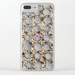 one flower Clear iPhone Case