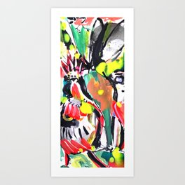 Happy Art Art Print