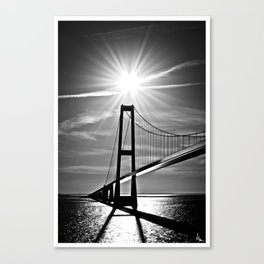 Beat The Sun Canvas Print