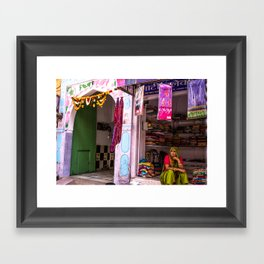 India Colors Framed Art Print