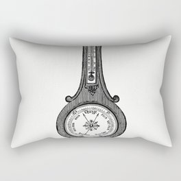 Wheel barometer from The Colliery Managers Handbook Fourth Edition Revised And Enlarged Rectangular Pillow