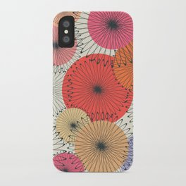 Spiral Flowers iPhone Case