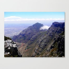 South Africa Impression 4 Canvas Print