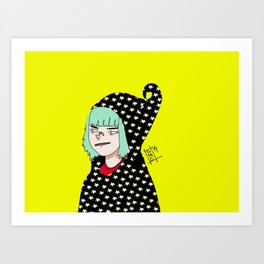 witchy witch Art Print